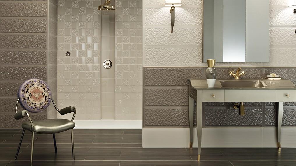 Pin arredo versace ceramiche design doccia ideal accessori per on pinterest - Arredo bagno versace home ...